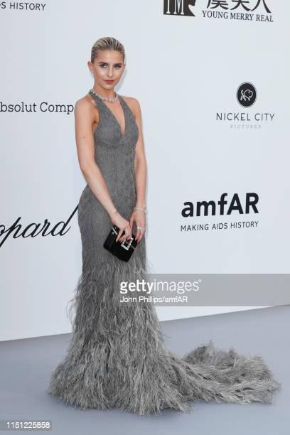 Caroline Daur attends the amfAR Cannes Gala 2019 at Hotel du Cap-Eden-Roc on May 23, 2019 in Cap d'Antibes, France.