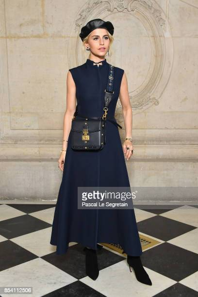 Caroline Daur attends the Christian Dior show as part of the Paris Fashion Week Womenswear Spring/Summer 2018 on September 26 2017 in Paris France