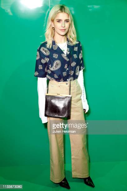Caroline Daur attends the Lacoste show as part of the Paris Fashion Week Womenswear Fall/Winter 2019/2020 on March 05 2019 in Paris France