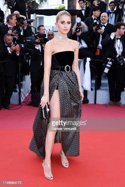 Caroline Daur attends the screening of Rocketman during the 72nd annual Cannes Film Festival on May 16 2019 in Cannes France