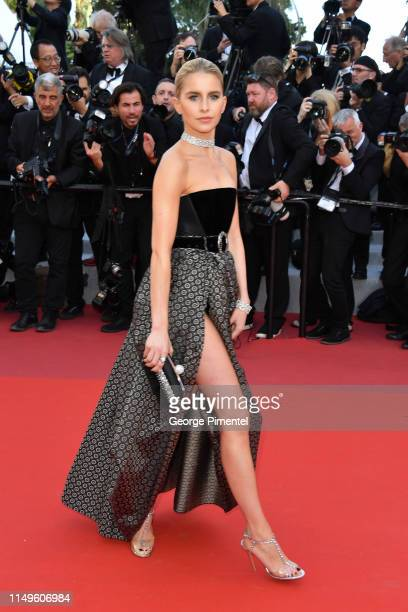 """Caroline Daur attends the screening of """"Rocketman"""" during the 72nd annual Cannes Film Festival on May 16, 2019 in Cannes, France."""