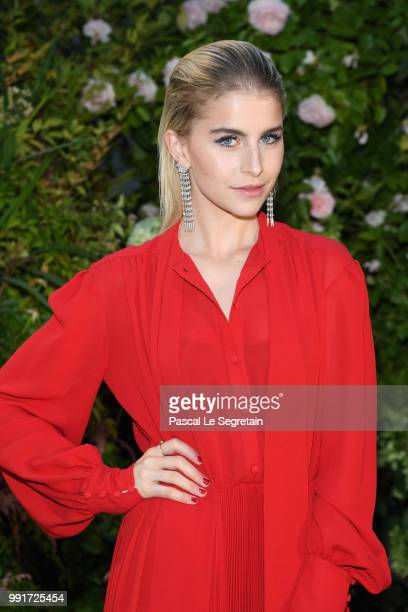 Caroline Daur attends the Valentino Haute Couture Fall Winter 2018/2019 show as part of Paris Fashion Week on July 4 2018 in Paris France