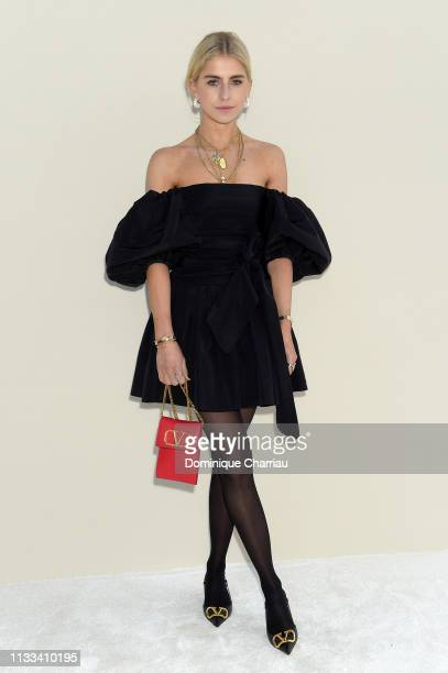 Caroline Daur attends the Valentino show as part of the Paris Fashion Week Womenswear Fall/Winter 2019/2020 on March 03 2019 in Paris France