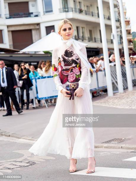 Caroline Daur is seen during the 72nd annual Cannes Film Festival at on May 15, 2019 in Cannes, France.