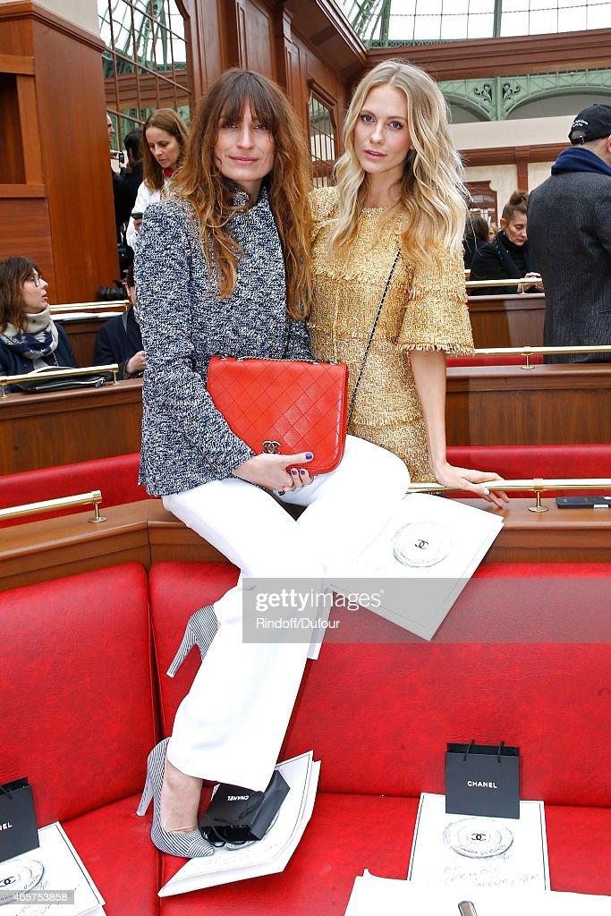 Chanel : Front Row - Paris Fashion Week Womenswear Fall/Winter 2015/2016
