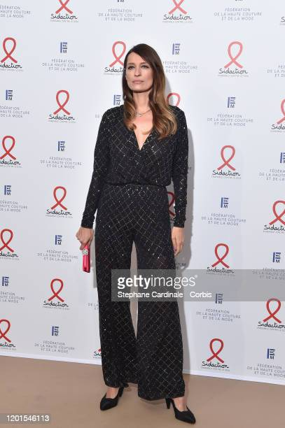 Caroline de Maigret attends Sidaction Gala Dinner 2020 At Pavillon Cambon on January 23 2020 in Paris France