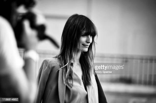 Caroline de Maigret attends the Ami Alexandre Mattiussi Menswear Spring Summer 2020 show as part of Paris Fashion Week on June 18 2019 in Paris France