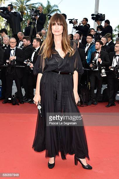 Caroline de Maigret attends the 'Cafe Society' premiere and the Opening Night Gala during the 69th annual Cannes Film Festival at the Palais des...