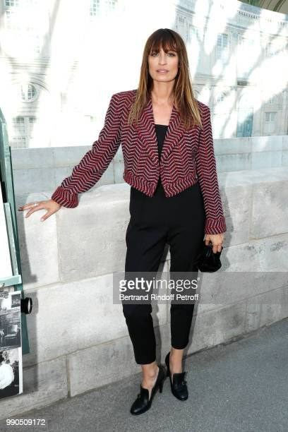 Caroline de Maigret attends the Chanel Haute Couture Fall Winter 2018/2019 show as part of Paris Fashion Week on July 3 2018 in Paris France