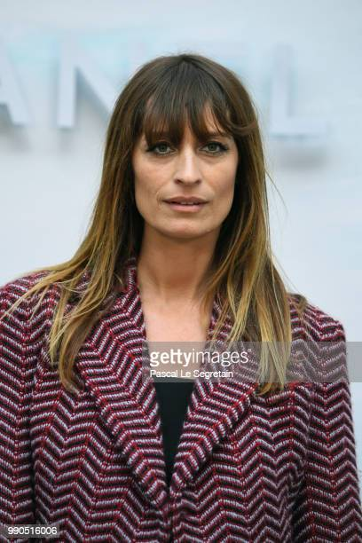 Caroline de Maigret attends the Chanel Haute Couture Fall Winter 2018/2019 show as part of Paris Fashion Week on July 3, 2018 in Paris, France.