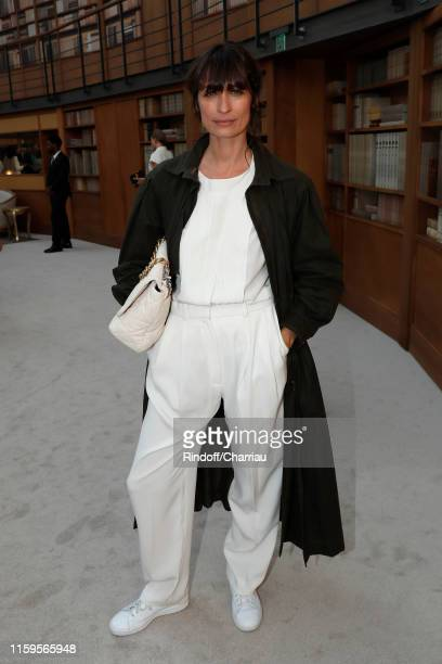 Caroline de Maigret attends the Chanel Haute Couture Fall/Winter 2019 2020 show as part of Paris Fashion Week on July 02 2019 in Paris France