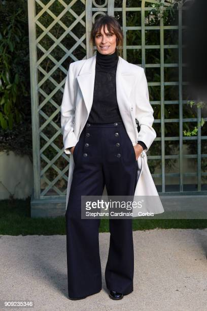 Caroline De Maigret attends the Chanel Haute Couture Spring Summer 2018 show as part of Paris Fashion Week January 23 2018 in Paris France