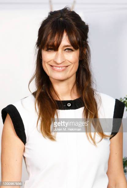Caroline de Maigret attends the Chanel Haute Couture Spring/Summer 2020 show as part of Paris Fashion Week at Grand Palais on January 21 2020 in...