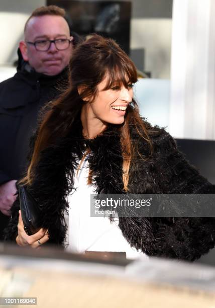 Caroline de Maigret attends the Chanel Haute Couture Spring/Summer 2020 show as part of Paris Fashion Week on January 21 2020 in Paris France