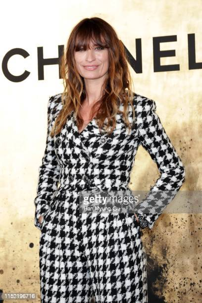 Caroline de Maigret attends the CHANEL ParisNew York 2018'19 Metiers d'Art show on May 28 2019 in Seoul South Korea