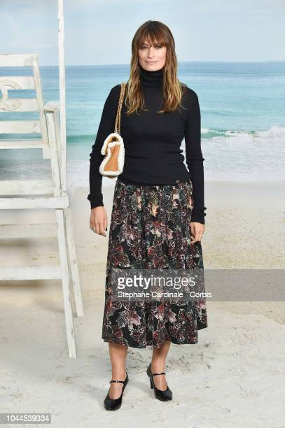 Caroline De Maigret attends the Chanel show as part of the Paris Fashion Week Womenswear Spring/Summer 2019 on October 2 2018 in Paris France