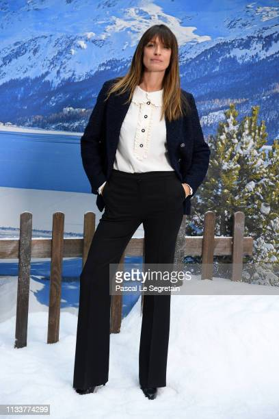 Caroline de Maigret attends the Chanel show as part of the Paris Fashion Week Womenswear Fall/Winter 2019/2020 on March 05 2019 in Paris France