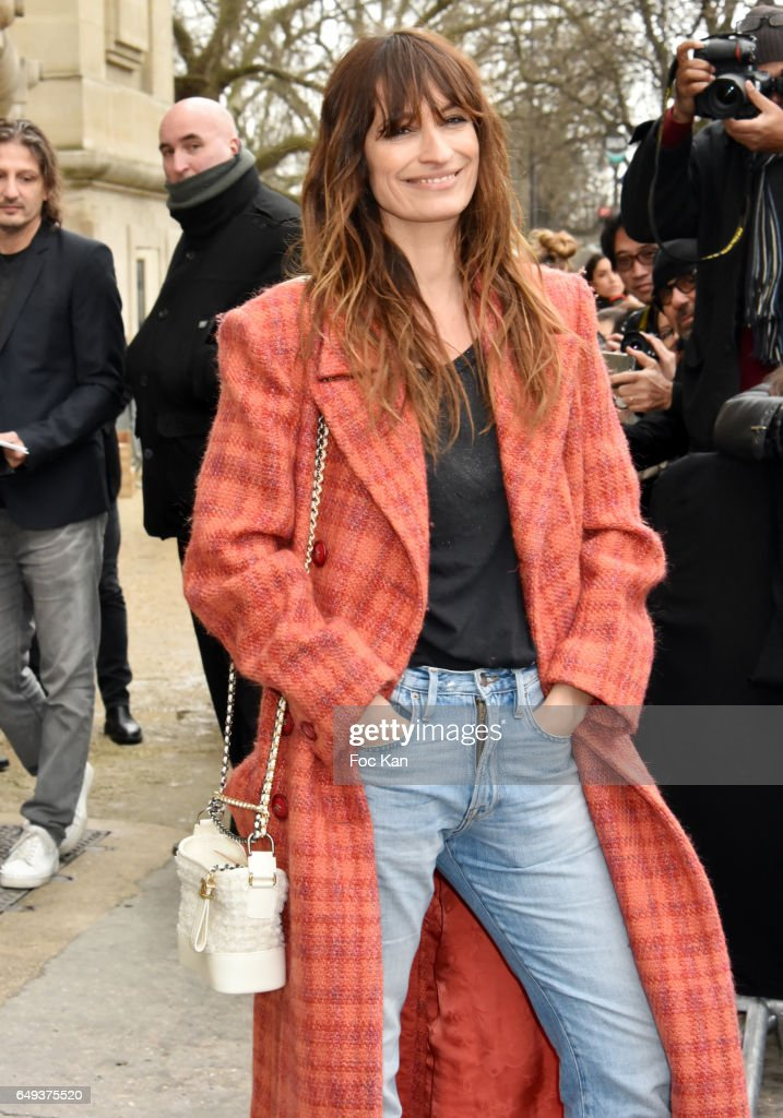 Caroline de Maigret attends the Chanel show as part of the Paris Fashion Week Womenswear Fall/Winter 2017/2018 on March 7, 2017 in Paris, France.