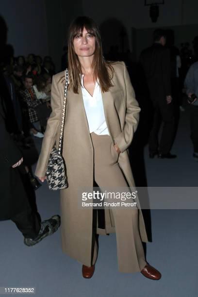 Caroline de Maigret attends the Haider Ackermann Womenswear Spring/Summer 2020 show as part of Paris Fashion Week on September 28, 2019 in Paris,...