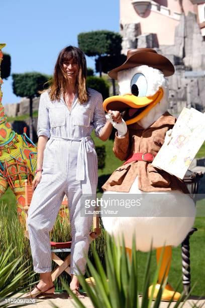 Caroline de Maigret attends the Lion King Festival At Disneyland Paris on June 29, 2019 in Paris, France.