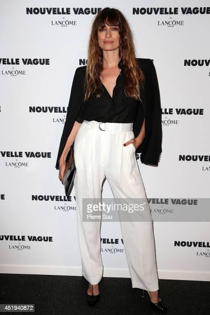 Caroline De Maigret attends the 'Nouvelle Vague by Lancome' party as part of Paris Fashion Week Haute Couture Fall/Winter 20142015 at Palais...