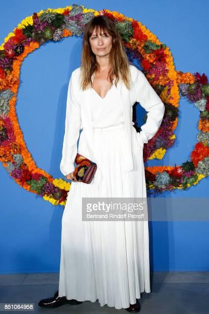 Caroline de Maigret attends the Opening Season Gala Ballet of Opera National de Paris Held at Opera Garnier on September 21 2017 in Paris France
