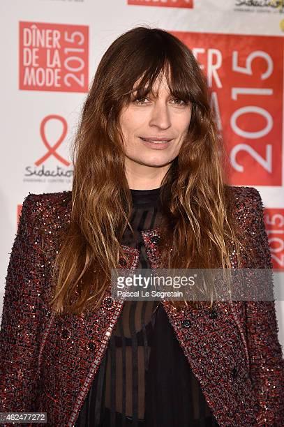 Caroline de Maigret attends the Sidaction Gala Dinner 2015 at Pavillon d'Armenonville on January 29 2015 in Paris France