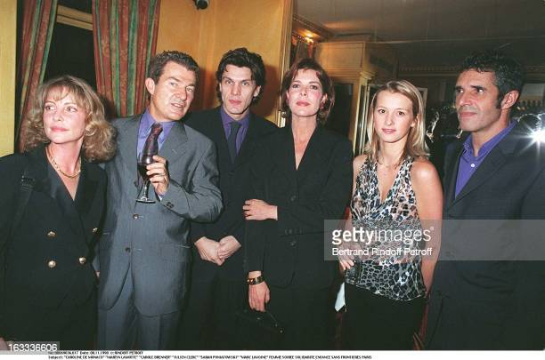Caroline De Monaco, Martin Lamotte, Carole Brenner, Julien Clerc, Sarah Poniatowski, Marc Lavoine at theEvening Gala In Aid Of Enfance Sans...