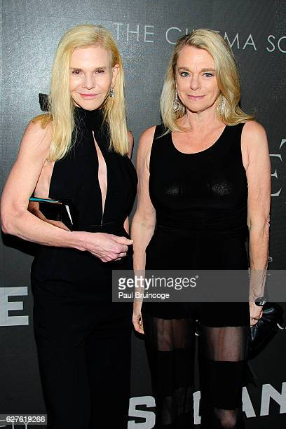 Caroline Dean and Debbie Bancroft attend The Cinema Society with Piaget Host a Screening of EuropaCorp's 'Miss Sloane' at SAGAFTRA Foundation Robin...