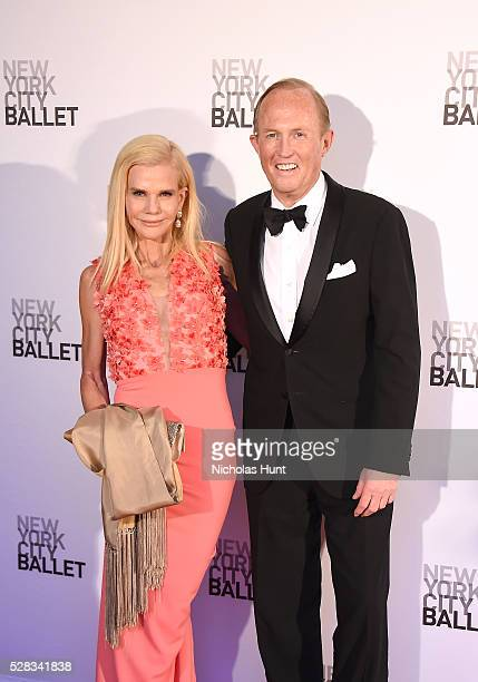Caroline Dean and Mark Gilbertson attend New York City Ballet's Spring Gala at David H Koch Theater at Lincoln Center on May 4 2016 in New York City