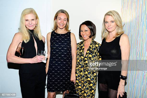 Caroline Dean Celine Rattray Alina Cho and Debbie Bancroft attend The Cinema Society with Piaget host the after party for EuropaCorps 'Miss Sloane'...
