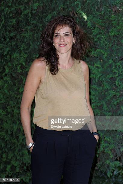 Caroline DeruasGarrel attends 9th Angouleme FrenchSpeaking Film Festival on August 28 2016 in Angouleme France