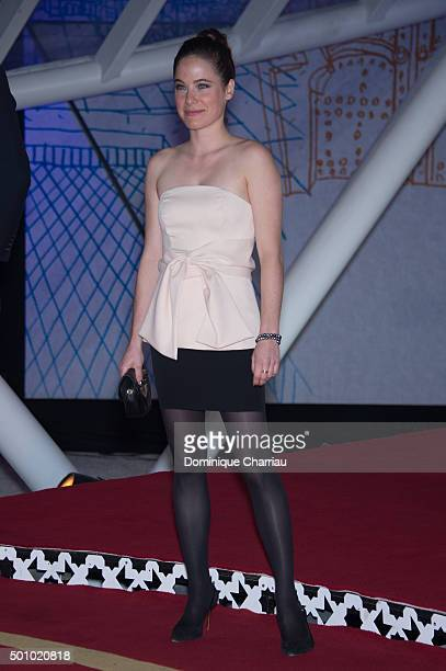 Caroline Dhavernas attends sthe ' The White Knights' premiere during the 5th Marrakech International Film Festival on December 11 2015 in Marrakech...