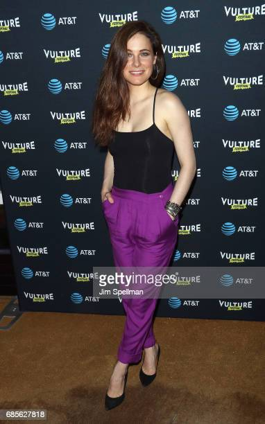 Caroline Dhavernas attends the 2017 Vulture Festival kick off party at The Top of The Standard at The Standard High Line on May 19 2017 in New York...