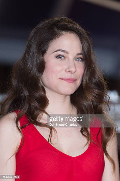 Caroline Dhavernas attends the ' La Isla' premiere during the 5th Marrakech International Film Festival on December 8 2015 in Marrakech Morocco