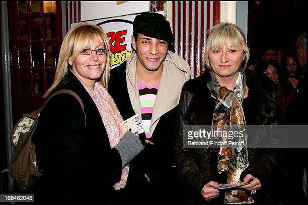 Caroline Diament Steevy and Christine Bravo Guy Bedos comes back 20 years later to La Scene Du Cirque D'Hiver to perform his new show in Paris