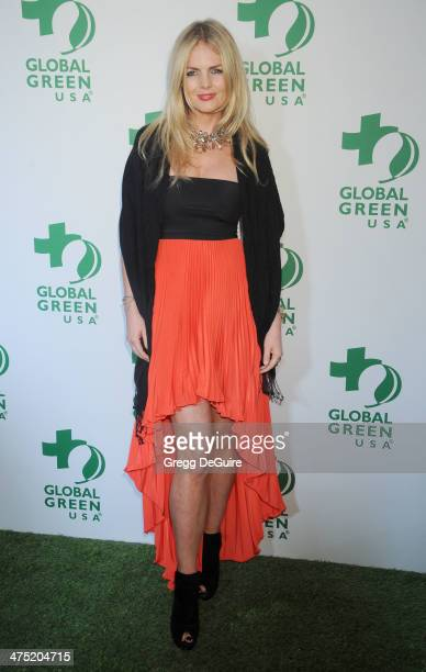 Caroline Doerwald arrives at the Global Green USA's 11th Annual PreOscar Party at Avalon on February 26 2014 in Hollywood California