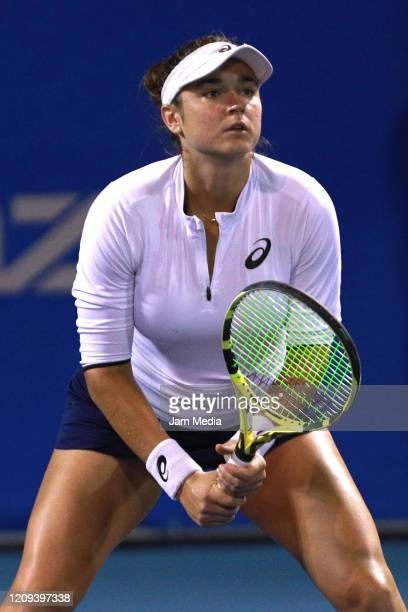 Caroline Dolehide of USA looks on during the doubles match between Caroline Dolehide of USA and Astra Sharma of Australia and Desirae Krawczyk of USA...