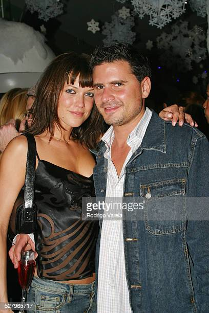 Caroline Draeeo and Andrew Sasson during Missy Elliott's Platinum Snow Ball to Celebrate Platinum Status of her Album Under Construction at Mynt...