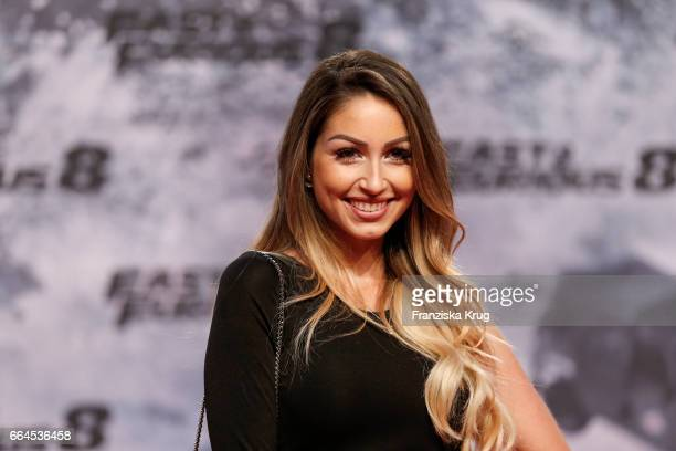 Caroline Einhoff attends the Fast Furious 8 Berlin Premiere at Sony Centre on April 4 2017 in Berlin Germany