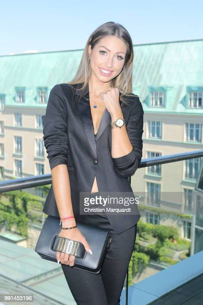 Caroline Einhoff attends the Thomas Sabo Press Cocktail at China Club Berlin on July 4 2018 in Berlin Germany