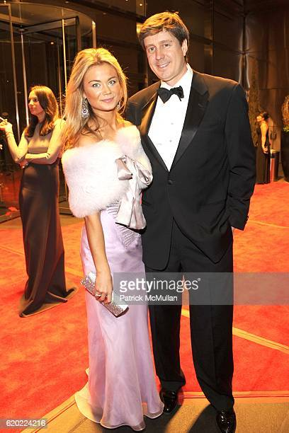 Caroline Fare and Chad Ritchie attend NEW YORKERS FOR CHILDREN Spring Gala A Fool's Fete Presented By MISSONI at Mandarin Oriental on April 16 2008...
