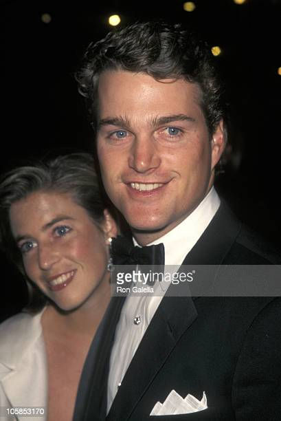 Caroline Fentress and Chris O'Donnell during 75th Anniversary of Time Magazine at Radio City Music Hall in New York City, New York, United States.