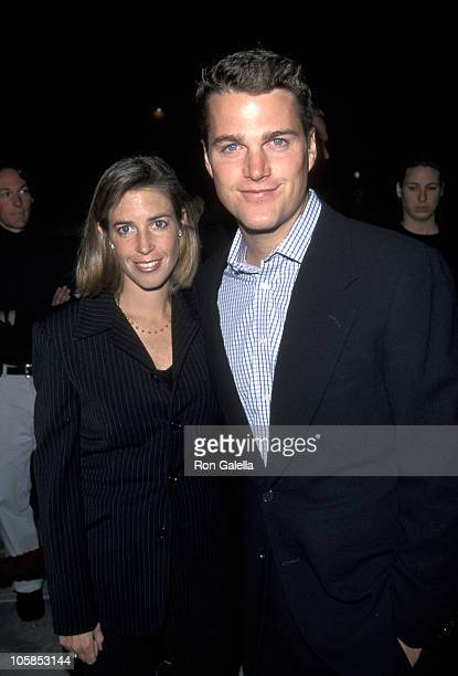 Caroline Fentress and Chris O'Donnell during Cookies Fortune Los Angeles Premiere in Hollywood California United States