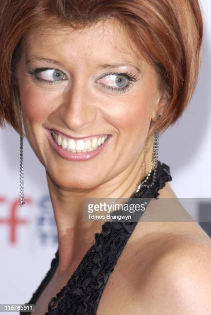 Caroline Feraday during Cystic Fibrosis Trust Breathing Life Awards Arrivals at Royal Lancaster Hotel in London Great Britain