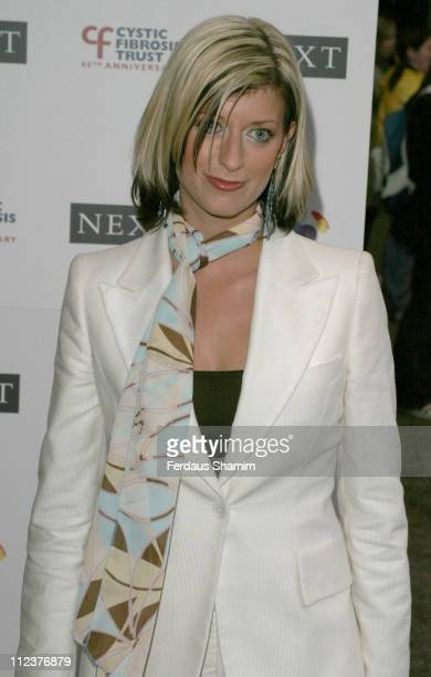 Caroline Feraday during The Breathing Life Awards 2004 - Arrivals at Royal Lancaster Hotel in London, Great Britain.