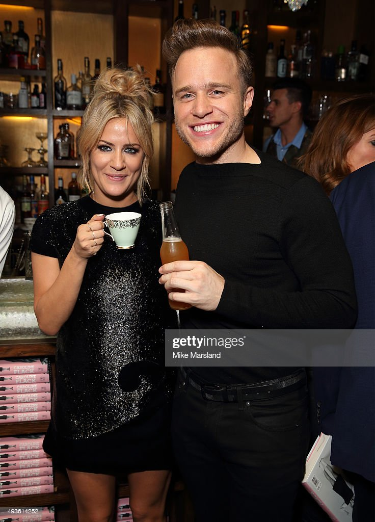 Caroline Flack Book Launch Party
