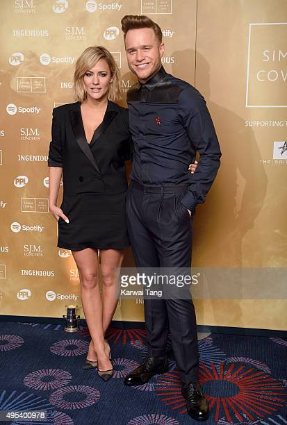 Caroline Flack and Olly Murs attend the Music Industry Trusts Awards in aid of the Nordoff Robbins charity and BRIT Trust at The Grosvenor House...