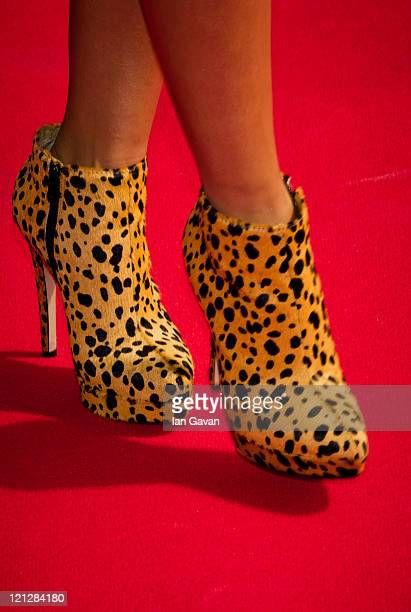 Caroline Flack attends a photocall for the X Factor at 02 Arena on August 17 2011 in London England