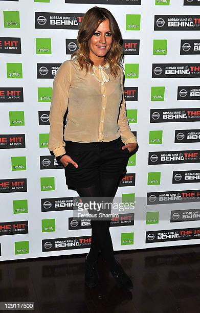 Caroline Flack attends exclusive gig hosted by Nissan and Spotify at KOKO on April 5 2011 in London England
